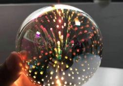 灯丝灯--彩色圆形